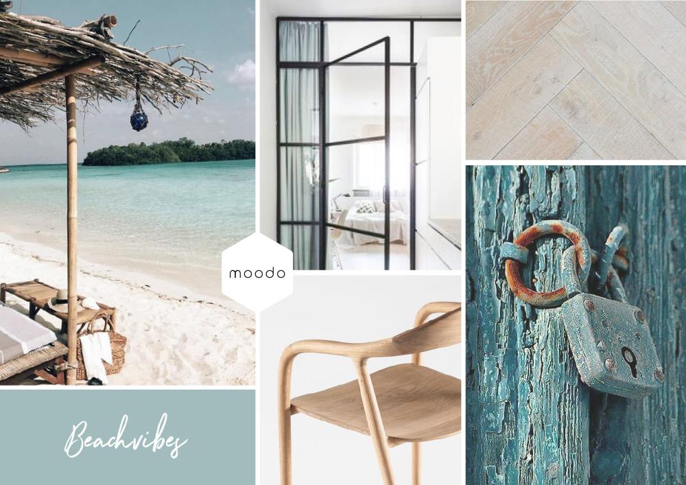 Interieuradvies interieurontwerp beach house moodboard