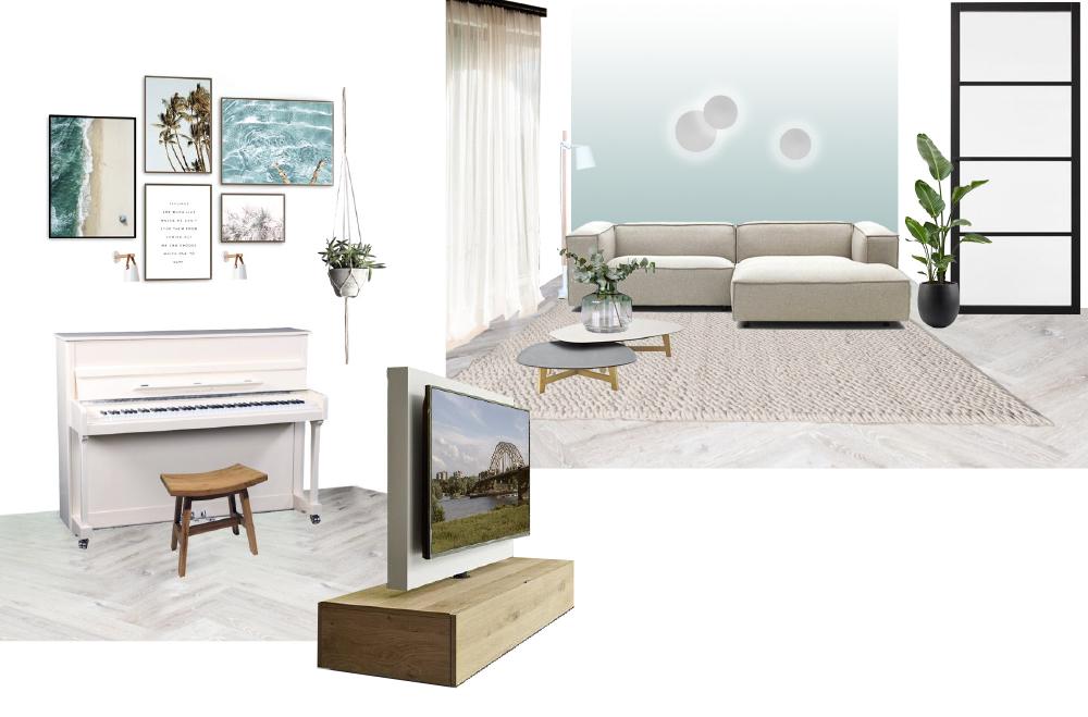 Interieuradvies interieurontwerp beachvibes relax zithoek