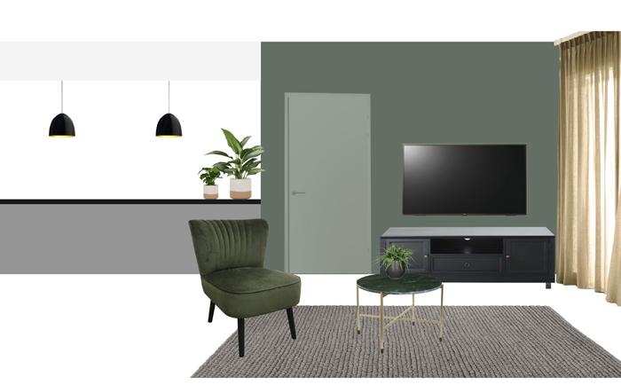 interieurontwerp woonkamer eclectisch