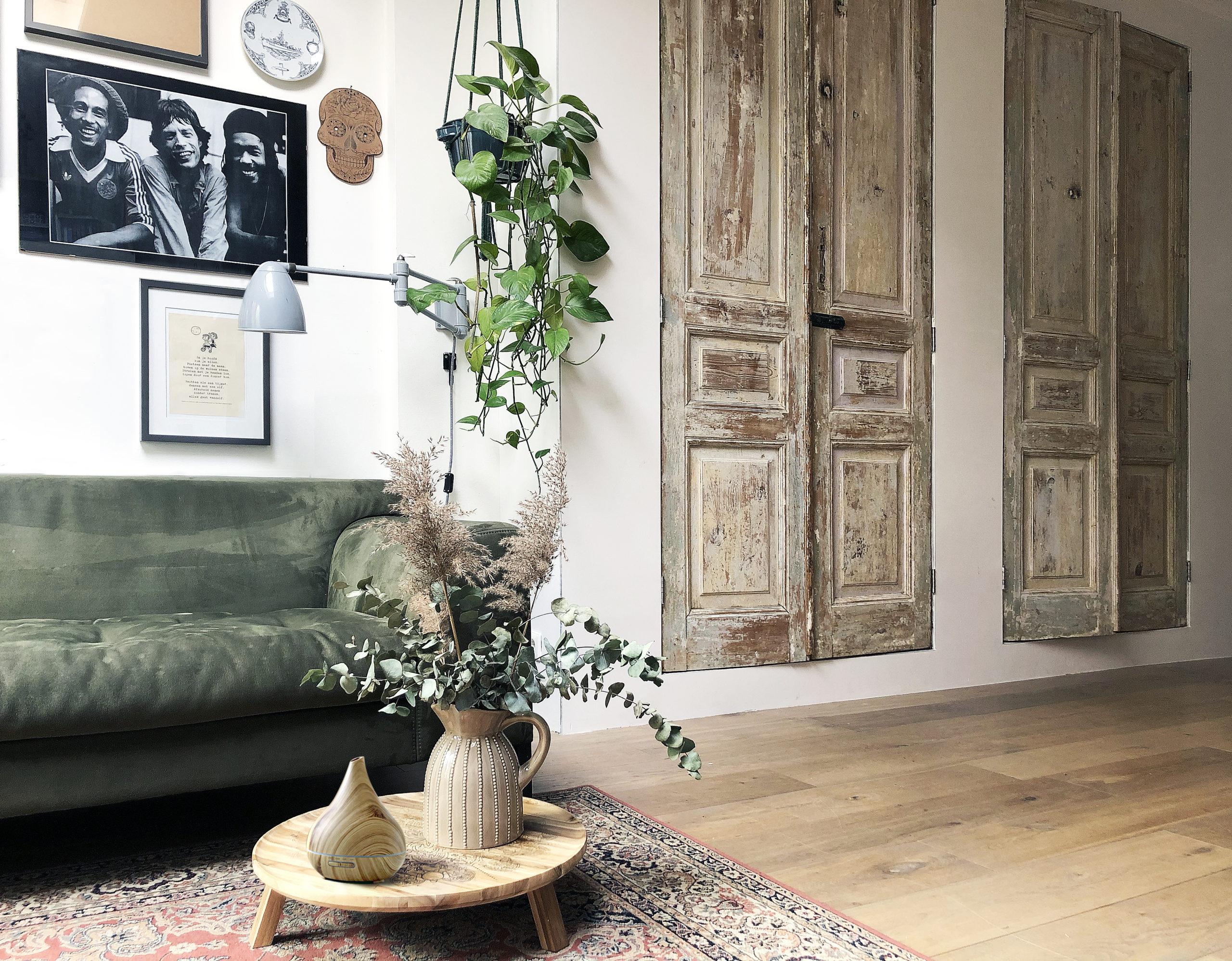 interieurdesign hergebruik materialen oude deuren
