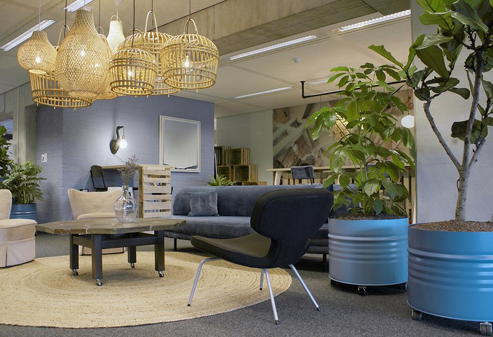 Huiskamersfeer op kantoor Gemeente Nijmegen